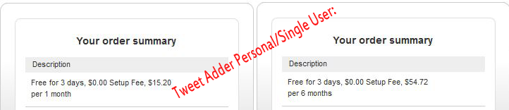 Tweet Adder Personal/Single User Discount