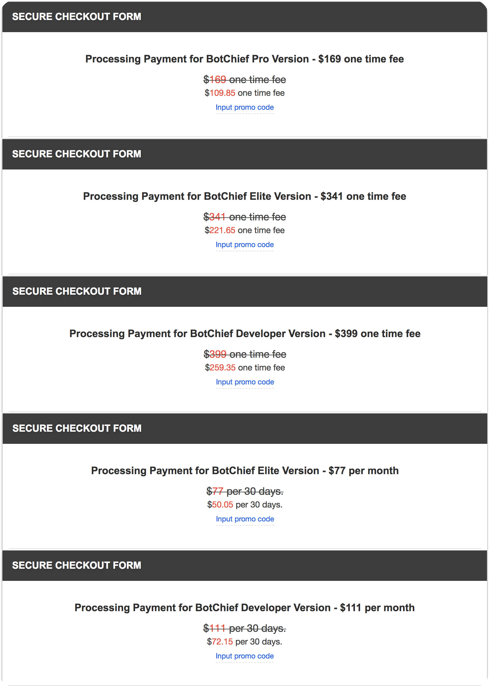 bofchief coupon code, bofchief discount code, bofchief promo code