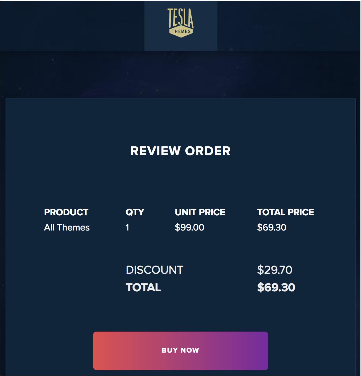 tesla themes coupon, tesla themes discount, tesla themes discount coupon